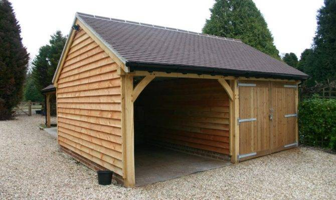 Two Bay Garage Car Port
