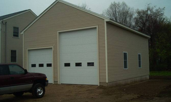 Two Bay Garage