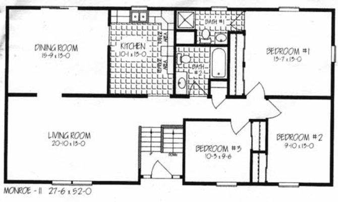 Two Bedoom House Plans Home Deco