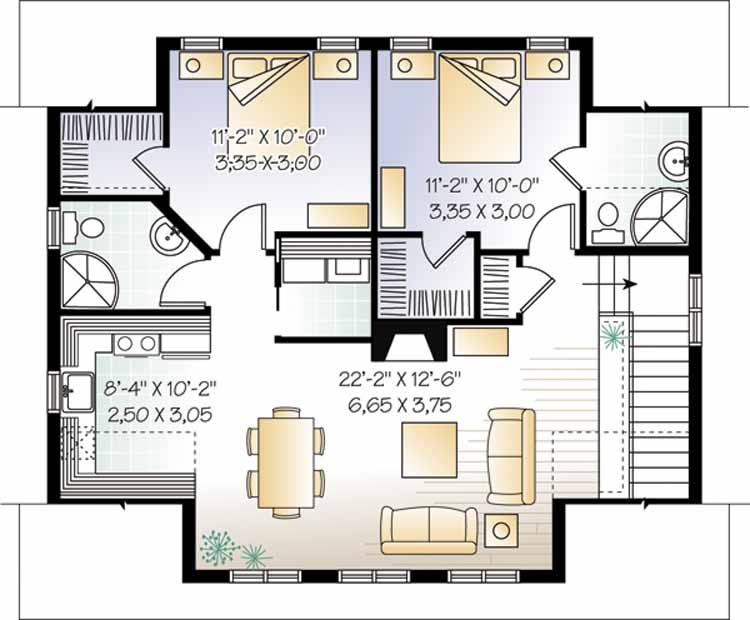 Two Bedroom Garage Apartment