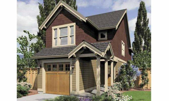 Two Bedroom Narrow Lot Plan