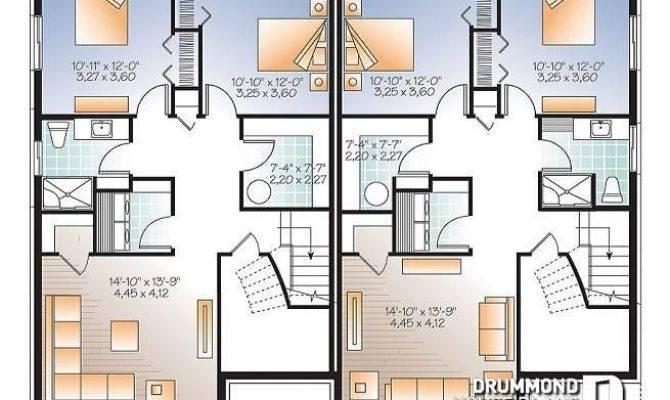 Two Bedroom Semi Detached House Floor Plans Glif