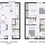 Two Bedroom Townhouse Floor Plans Talent