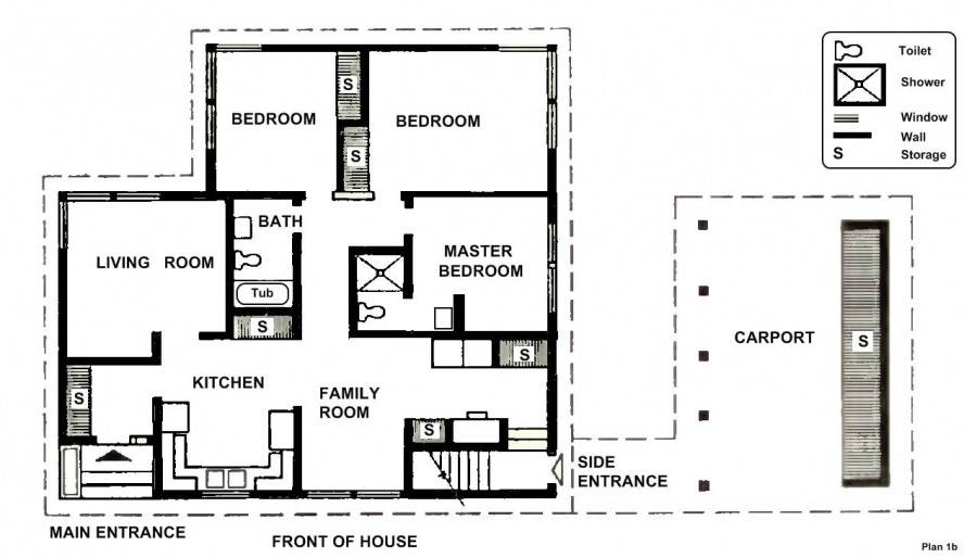 Two Bedrooms House Plans Small Home Luxury Bedroom