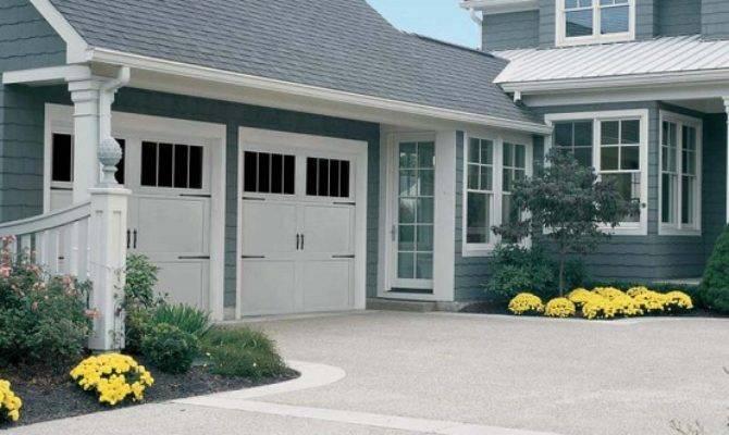 Two Car Garage Door Measure Suitable