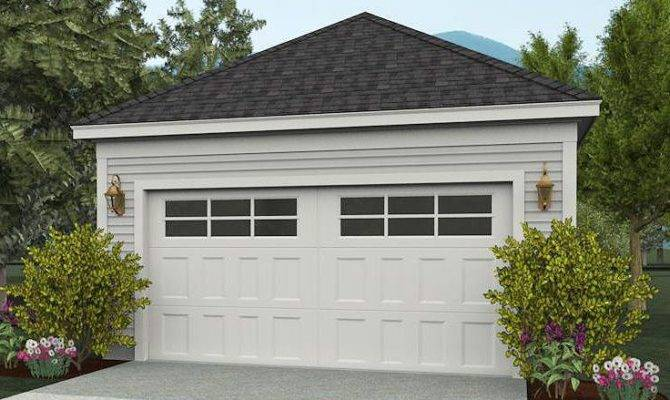 Two Car Garage Plans Detached Design