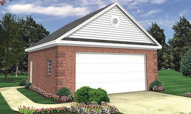 Two Car Garage Plans Plan