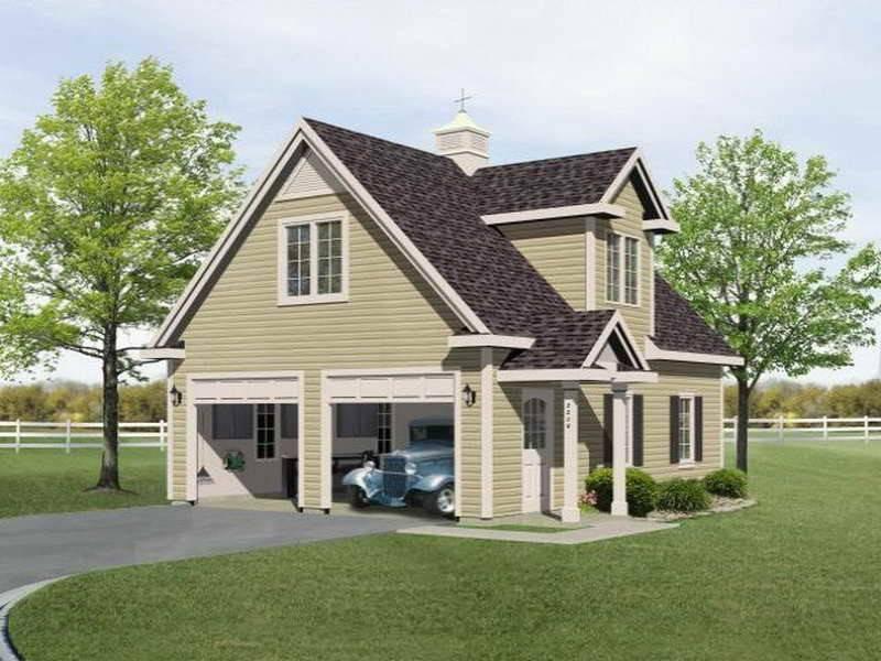 Two Garage Loft Plans Storage