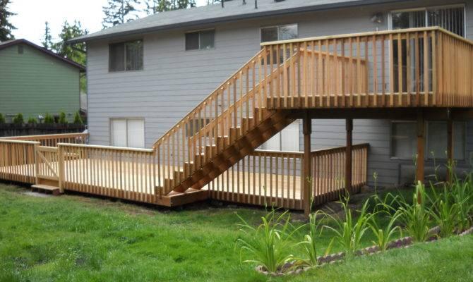 Two Level Deck Sunset Decks Jon Wetzel Pinterest