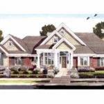 Two Master Bedrooms Hwbdo Craftsman Builderhouseplans