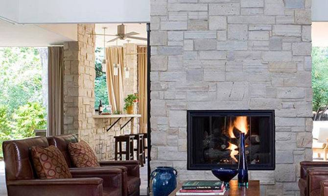Two Sided Fireplaces