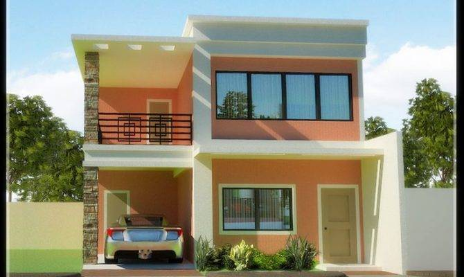 Two Storey House Designs Floor Affordable Story Plans