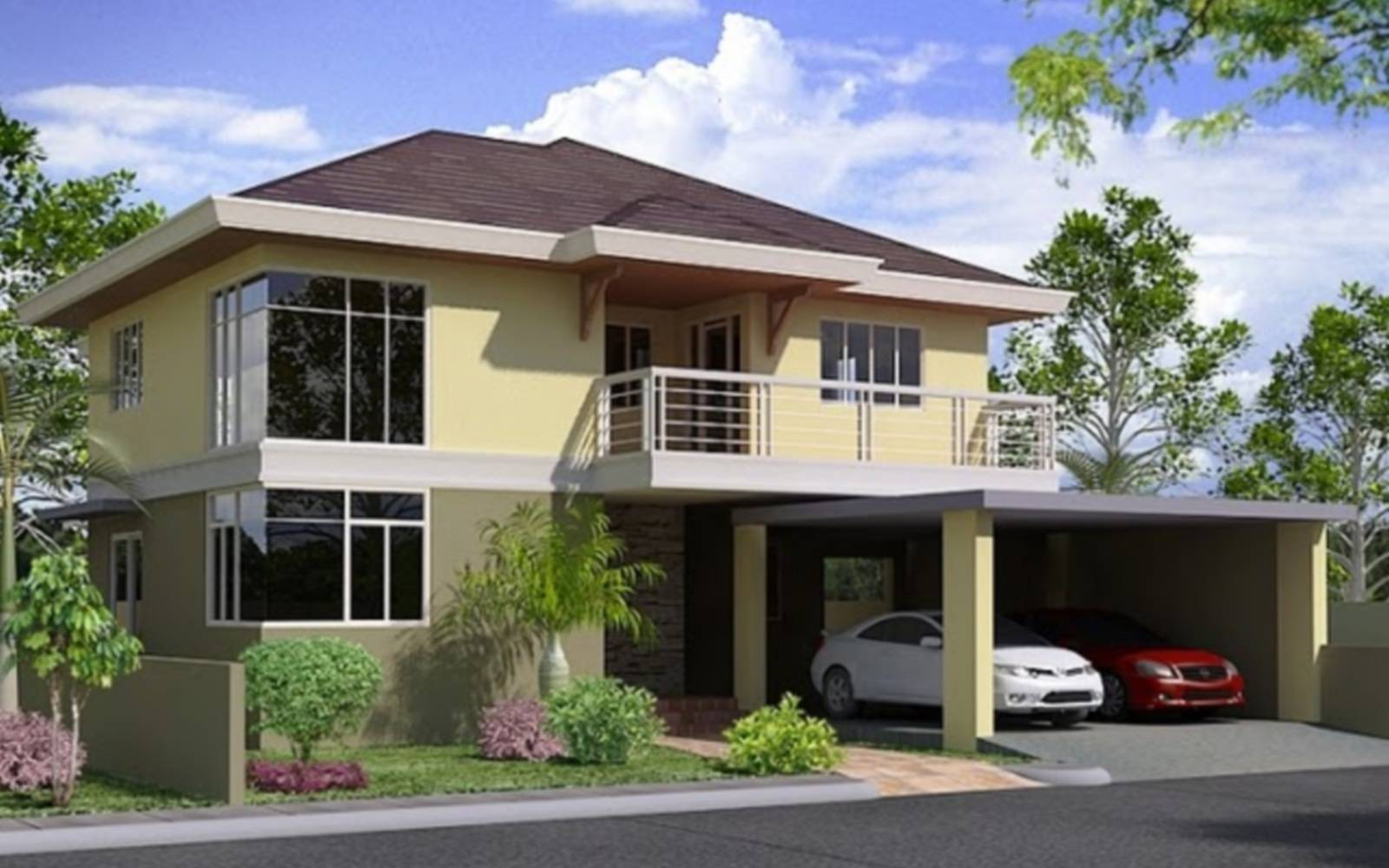 Two Storey House Plan Philippines