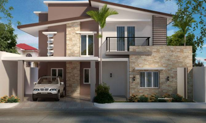 Two Storey Residential House Home Design