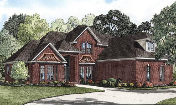 Two Story Brick House Plans Home Design Style