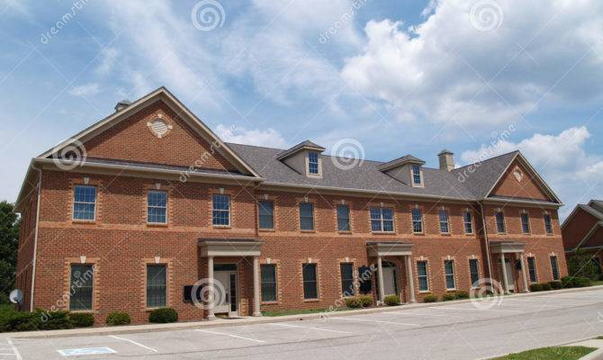 Two Story Brick Office Building