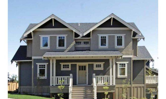 Two Story Eplans Craftsman House Plan Bungalow