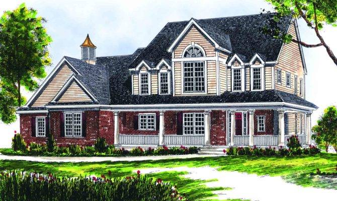 Two Story Farmhouse Floor Master Suite