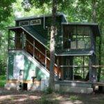 Two Story Foundation Tiny House Hobo