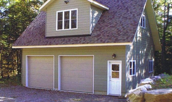 Two Story Garage Loft