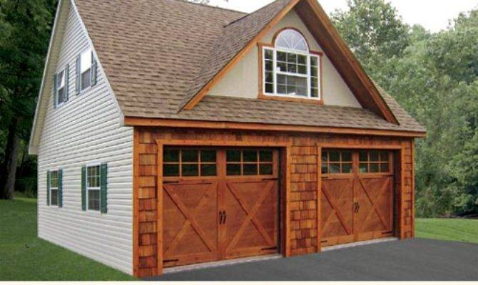 Two Story Garages Modular Custom Built