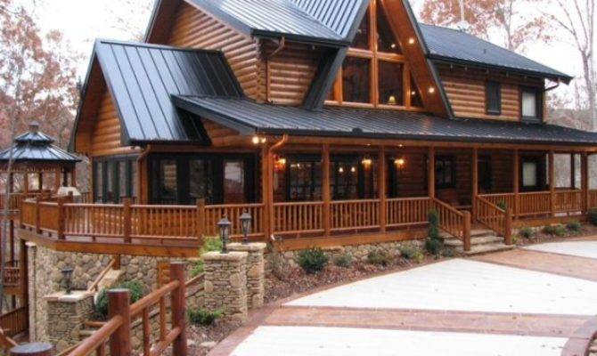 Two Story House Plan Walkout Basement Here