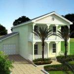 Two Story House Plans Balconies Mediterranean Ehouse Plan