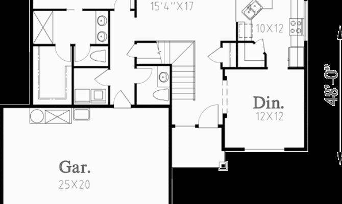 Two Story House Plans Master Main
