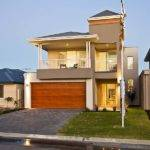 Two Story House Plans Narrow Blocks Home Design