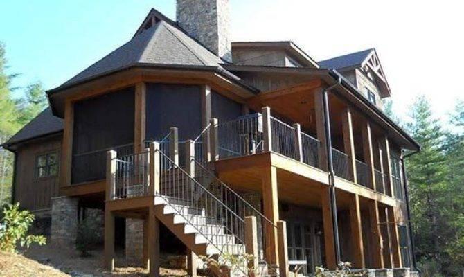 Two Story House Plans Walkout Basement Beautiful