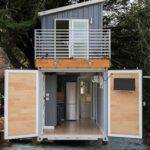 Two Story Shipping Container Tiny House Sale