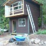 Two Story Tiny House Balcony Ultimate Micro Cabin