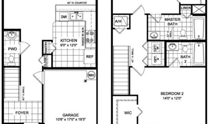 Two Story Townhome Designs Joy Studio Design