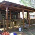 Two Tiered Covered Deck Dennis Board Pinterest