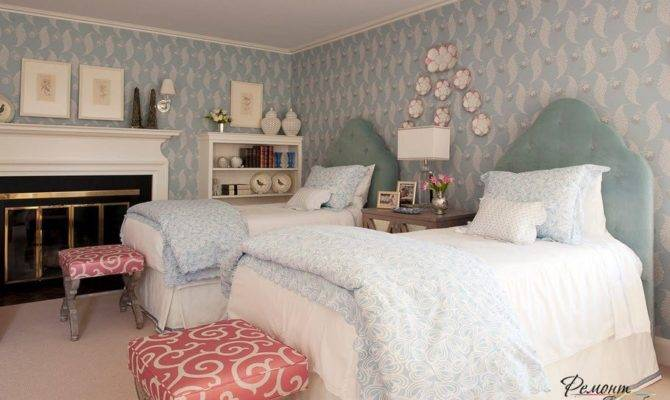 Two Twin Beds Bedroom Best Design Ideas