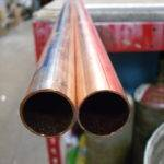 Type Copper Pipe Left Blue Thicker Than