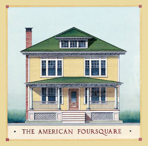 Type House American Foursquare