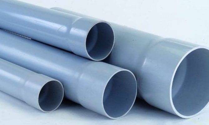 Types Plumbing Pipes Used Building Construction