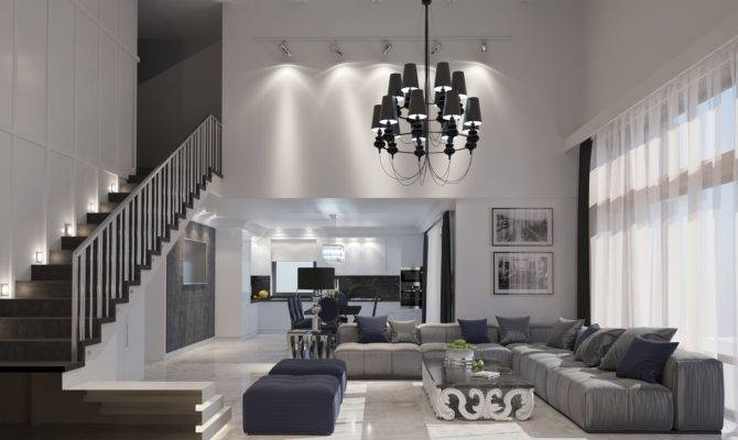 Types Spacious Modern Living Room Designs Which