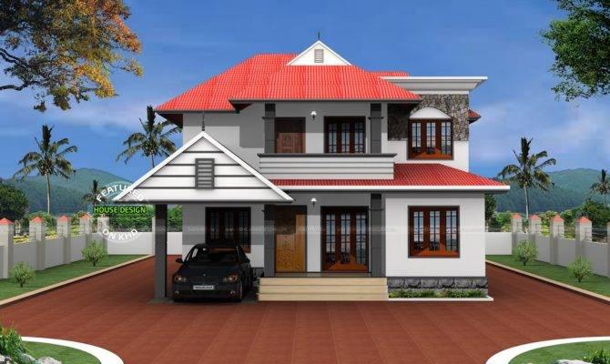 Typical Kerala Home Design