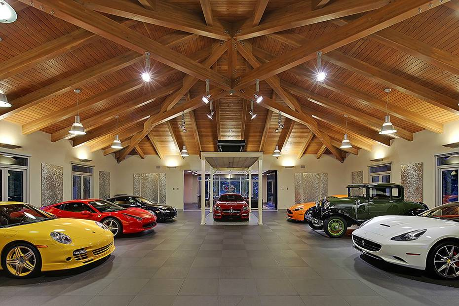 Ultimate Car Collector Home Washington Pics Classy