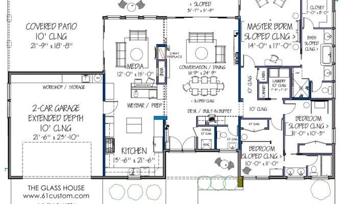 Ultra Modern Floor Plans Contemporary House Plan - Home ...