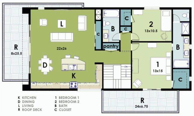 Ultra Modern House Plans South Africa