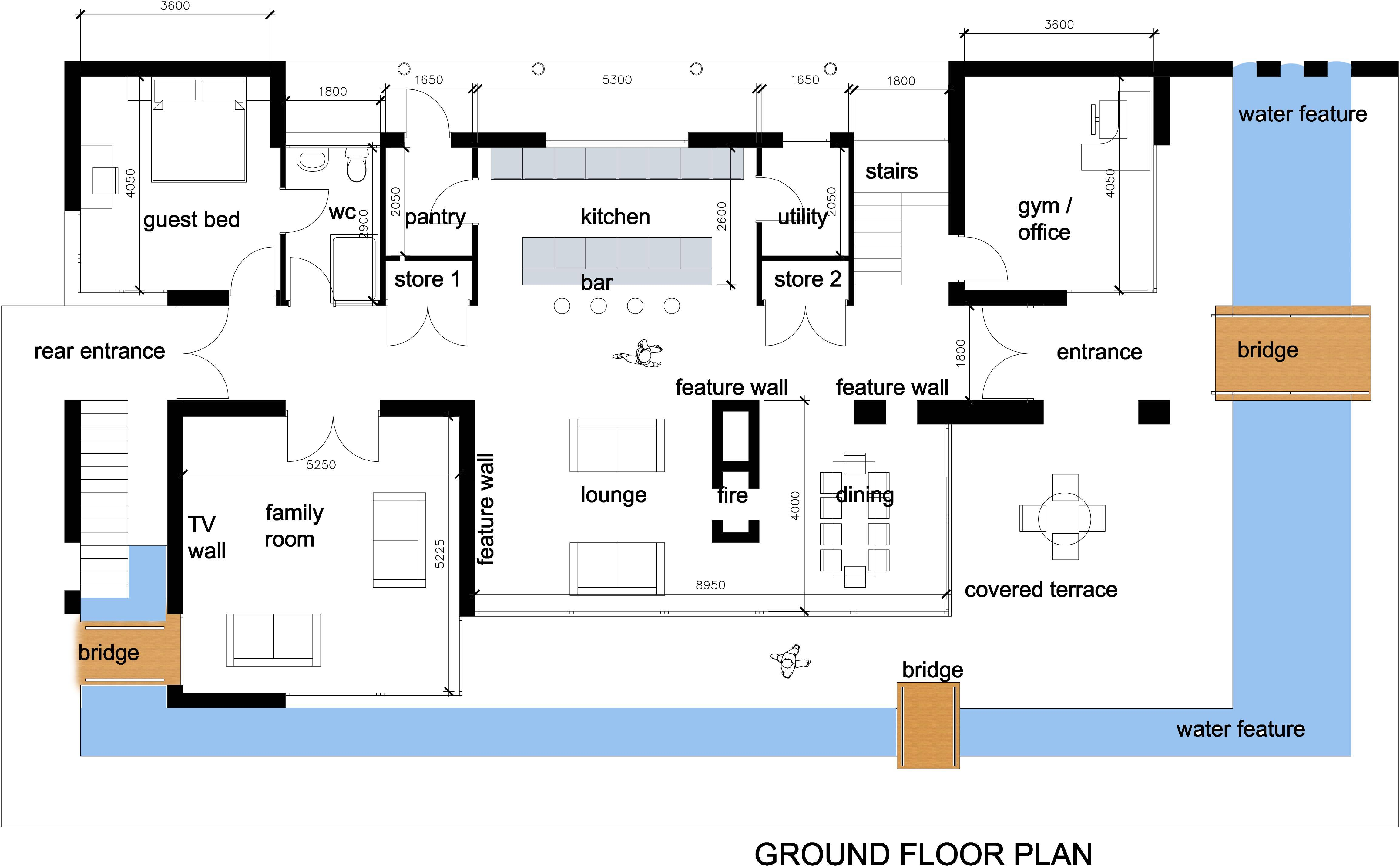 Uncategorized Modern Mansion House Plan Surprising