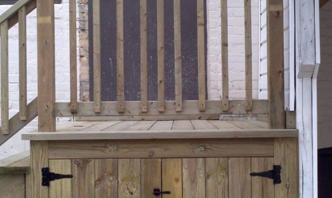 Under Deck Storage Maximize Space Beneath