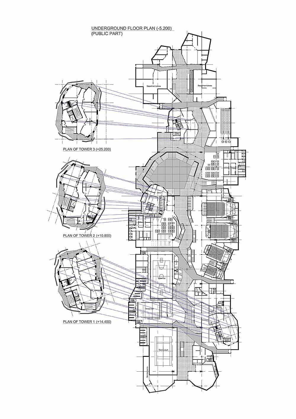 Underground Home Blueprints
