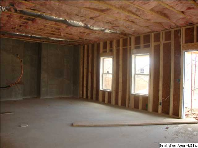 Unfinished Daylight Basement Gives Plenty Room