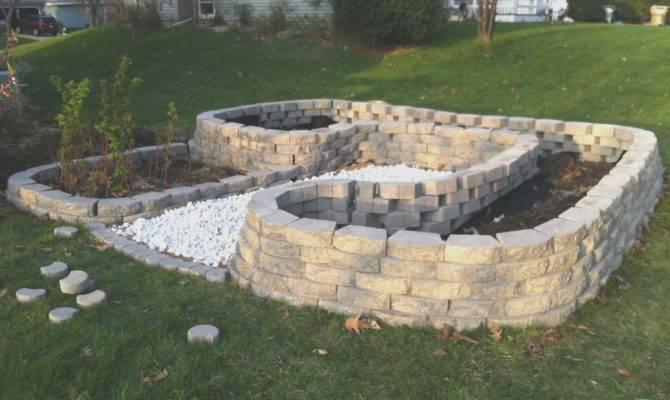 Unique Concrete Retaining Wall Ideas Cement Landscape