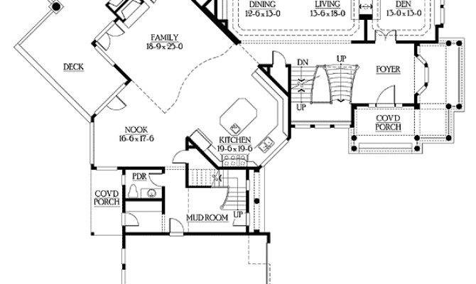 Unique Floor Plan Central Turret