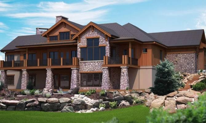 Unique Hillside House Plans